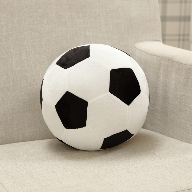 2016 100% High quality Plush toy football stuffed plush toy football ball plush soccer ball pillow Stuffed Toys only 20cm children table football game ball machine toys