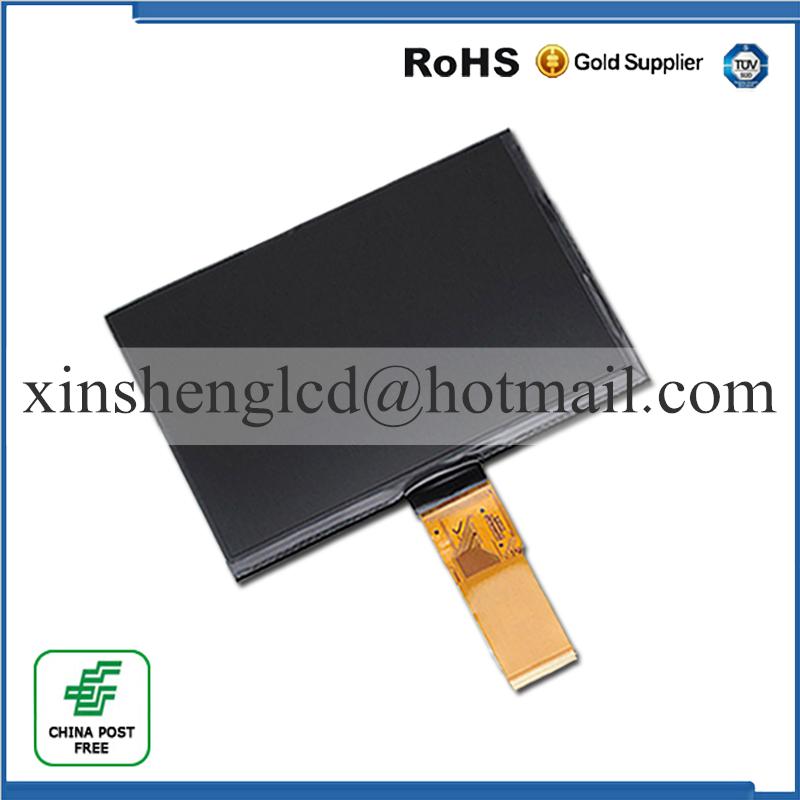 7 163*97MM 50pin LCD Display Matrix For PLAYPAD 3 LCD Screen Replacement Panel Parts Free Shipping