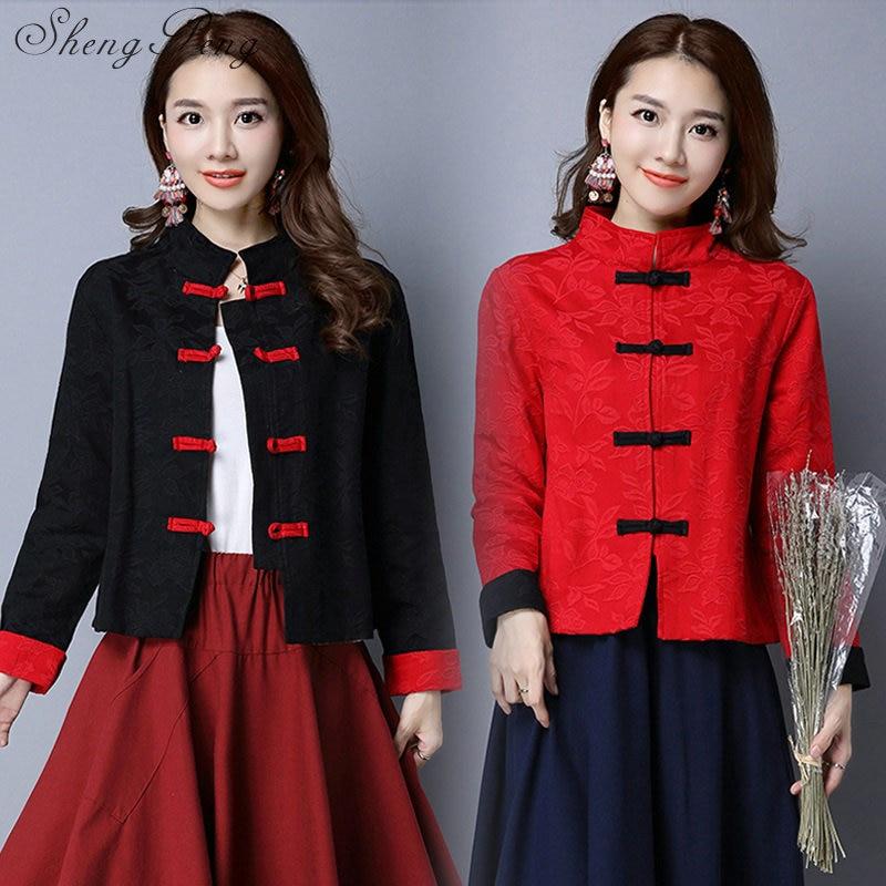 Cheongsam top qipao traditional cheongsam oriental chinese clothing for women long sleeve tops traditional chinese qipao  CC388