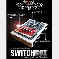 SWITCHBOX (трюк + онлайн Instruct) по Mickael Chatelain Волшебные трюки карты реквизит волшебные карты игрушечные лошадки иллюзии маг