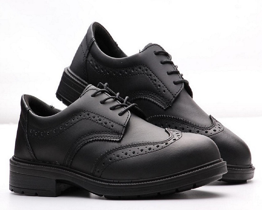 Военные рабочие ботинки, модная защитная обувь для мужчин, Нескользящие, дышащие Светоотражающие черные красивые мужские туфли в деловом с...