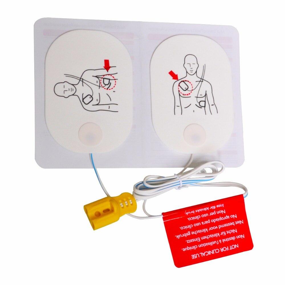 12 пар/упак. AED обучение P150 колодки для взрослых обучение Сменные патчи для использования с Heartstart машина устройство для здравоохранения