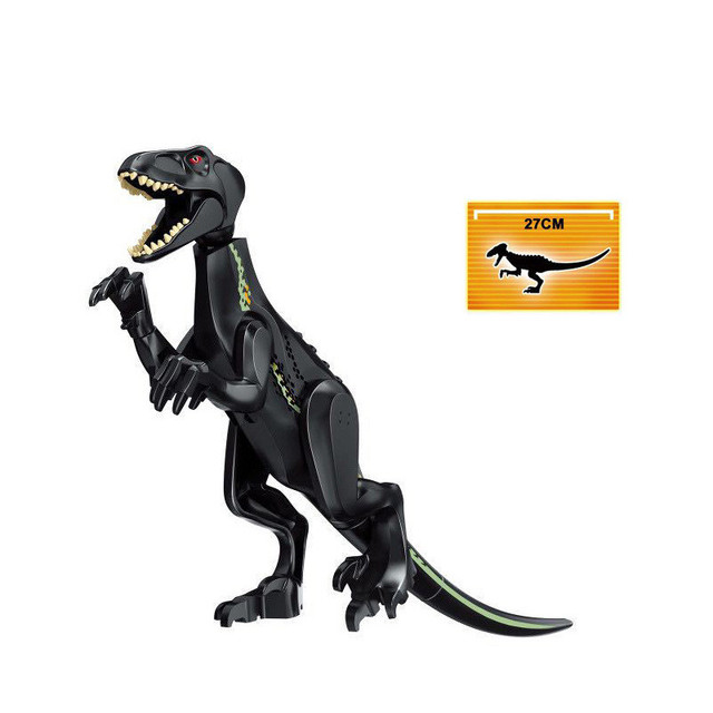 Jurassic World Park Raptor Dinosaur Indoraptor Tyrannosaurs Rex Triceratops Building Blocks Dolls Toys Action For Children Toys