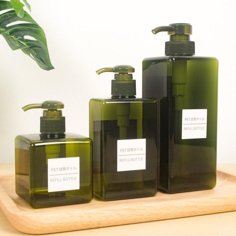 250 450ml Kitchen Bathroom Soap Dispenser Cosmetics Bottles Hand Sanitizer Shampoo Body Wash Lotion Bottle Outdoor Travel Bottle in Portable Soap Dispensers from Home Garden