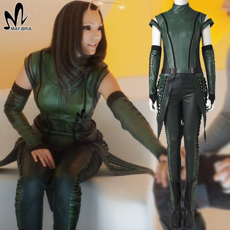 Guardians of the Galaxy 2 Mantis cosplay costume superhero cosplay Halloween costumes for women Adult Mantis costume green suit