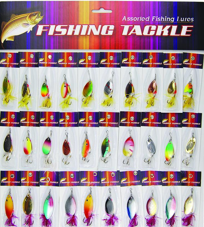 Lure fishing lure paillette set spoon paillette compound rotary paillette many kinds of fishing lure to be bait lure
