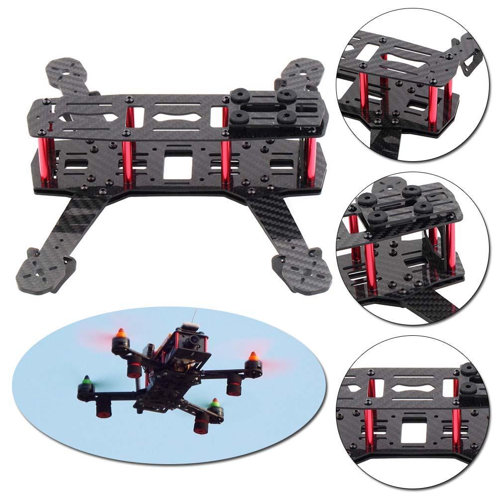 Mini Alien Across Full Carbon Fiber 250mm 250 RC Quadcopter Frame Kit  Unassembled for DIY FPV Drone As ZMR250 Q250 FS