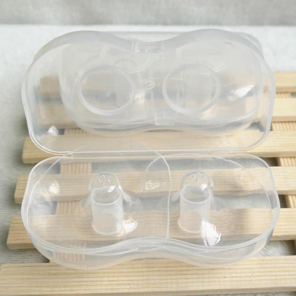 La lactancia materna reutilizables accesorios silicona chupetes de alimentación con leche pezón escudo Sujetador de lactancia bebé conveniente cubierta de protección