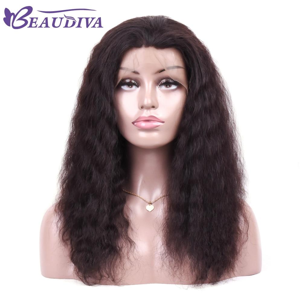 BEAUDIVA Brasilianische Lose Welle Perücke Für Schwarze Frauen 100% Menschliches Haar Natürliche Farbe Brasilianische Spitze Front Perücken Kostenloser Shippping