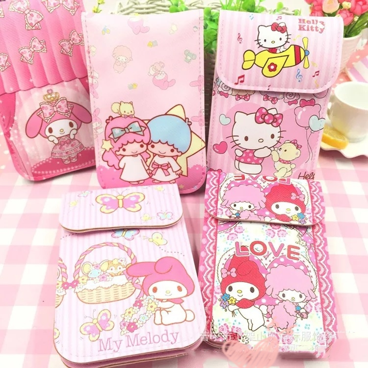 Cute Little Twin Star My Melody Hello Kitty Coin Wallet Bag Backpack Coin Purse Toy For Children Gifts B71