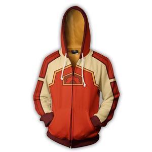 Image 4 - Avatar: The Last Airbender Aang Cosplay Costume quotidiano cerniera con cappuccio giacca stampata 3D felpa con cappuccio abbigliamento sportivo felpe Casual Top