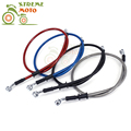 Dirt Pit Bike Motorcycle Hydraulic Brake Or Clutch Hose Pipe RED BLUE SILVER BLACK 1000mm 1200mm 1500mm 1600 1700 1800 2000mm