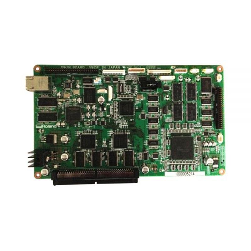 Original Roland XJ-740 Mainboard permanent roland xj 640 xj 740 eco solvent chips 6pcs set cmyklclm printer parts