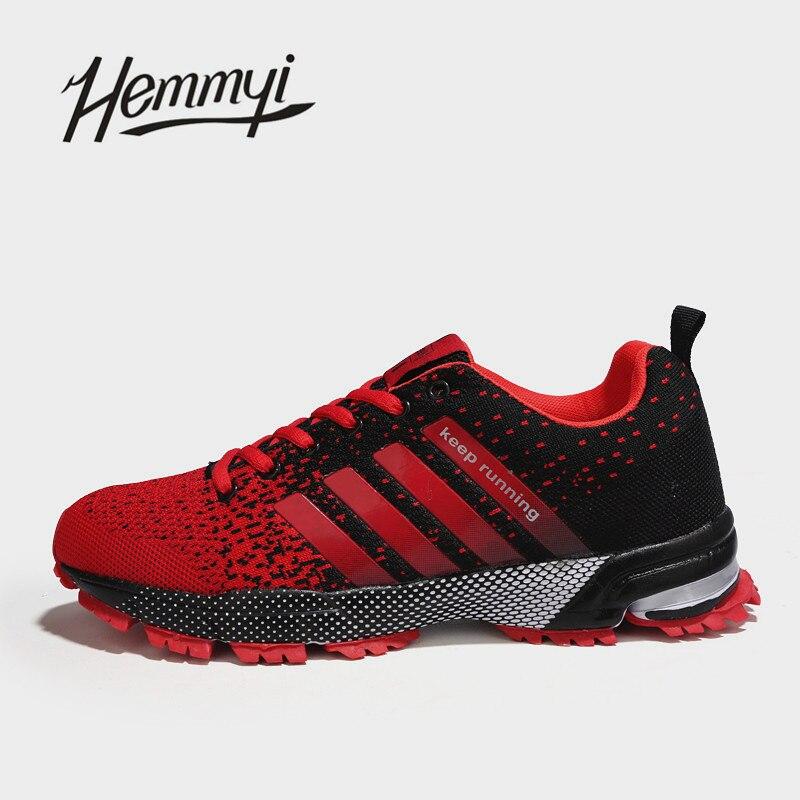 2018 Nouveau Respirant Hommes Sneakers Unisexe Couple Chaussures Panier Femme Dur-Portant Tenis Feminino Mâle Chaussures Plus La Taille 11 12