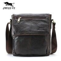 CROSS OX Genuine Leather Handbags For Men Fashion Shoulder Bag For Business Casual Briefcase Bags Men