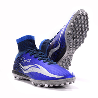 Hot Sale Outdoor Antiskid TF Cleats Soccer Boots Men Teenager Professional Training Football Shoes Zapatos De