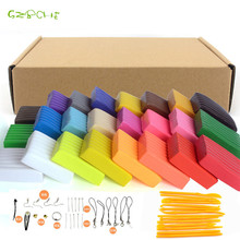 24 colors/set oven-bake fimo polymer clay with tools Early Education brinquedo fashional fimo clay finest present for kids
