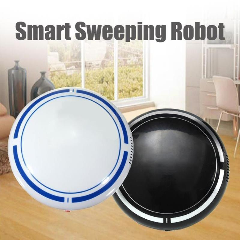 Alloet Robot Vacuum Cleaner Smart Robotic Vacuum Cleaner Mini Robot Dust Sweeping Sweeper USB Floor Mopping Machine Household все цены
