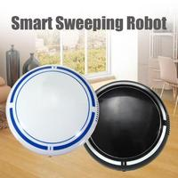 USB Rechargeable Smart Cleaning Robot Sweeping Machine Automatic Vacuum Cleaner Home Floor Dirt Dust Cleaners