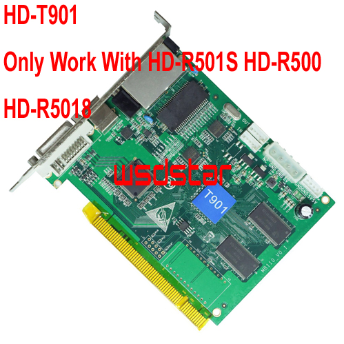 HD T901 Full Color LED Synchronous Sending Card Only work with HD R500 HD R501 HD
