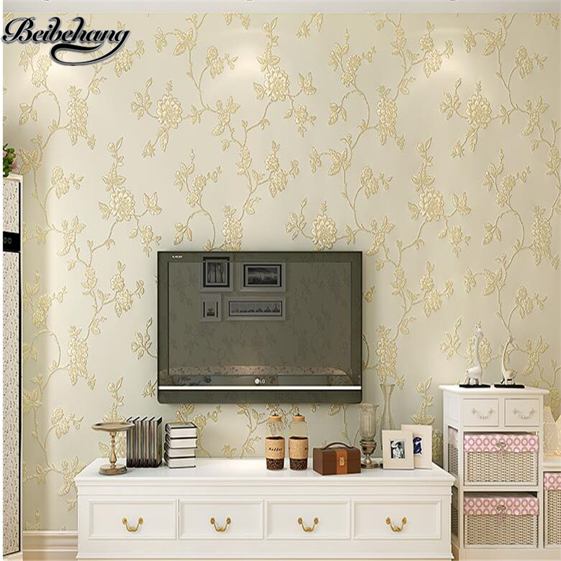 Beibehang papel de parede European Living Room Bedroom 3d Non-wovenWallpaper TV Background Wallpaper Nightingale large mural papel de parede european nostalgia abstract flower and bird wallpaper living room sofa tv wall bedroom 3d wallpaper