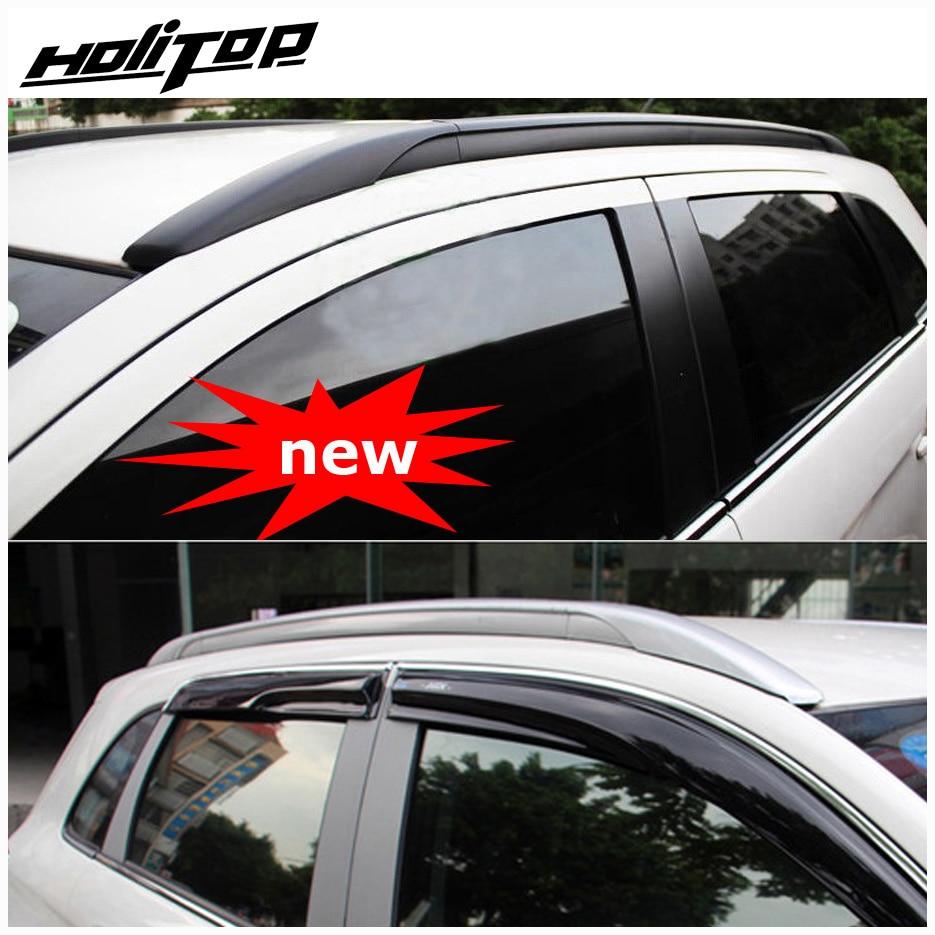 barra de techo / barra de techo para Mitsubishi ASX o RVR 2010-2019, estilo OE, fijación por tornillos en lugar de adhesivo, aleación de aluminio + ABS