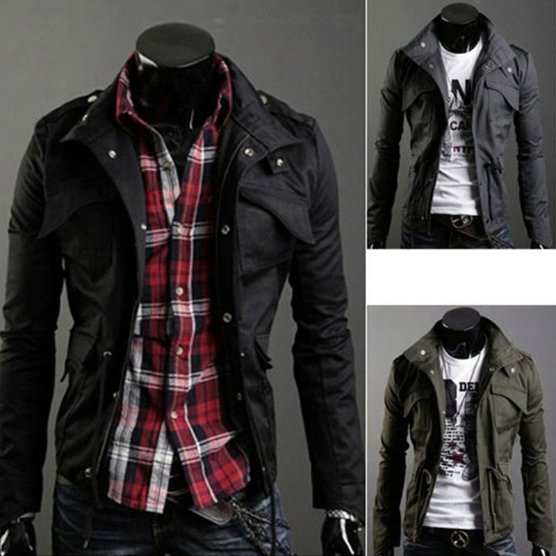 Popular Military Style Jackets Men-Buy Cheap Military Style ...