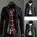 New 2017 military style jacket men stand collar men jacket 100% cotton casual jaqueta masculina plus size 4xl men's clothing/JK1