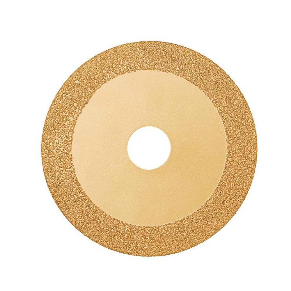 Diamond Cutting 100mm Electroplated GlassSaw Blade Grinding Disc Grain Fineness <font><b>150</b></font> Rotary Tool Drill image