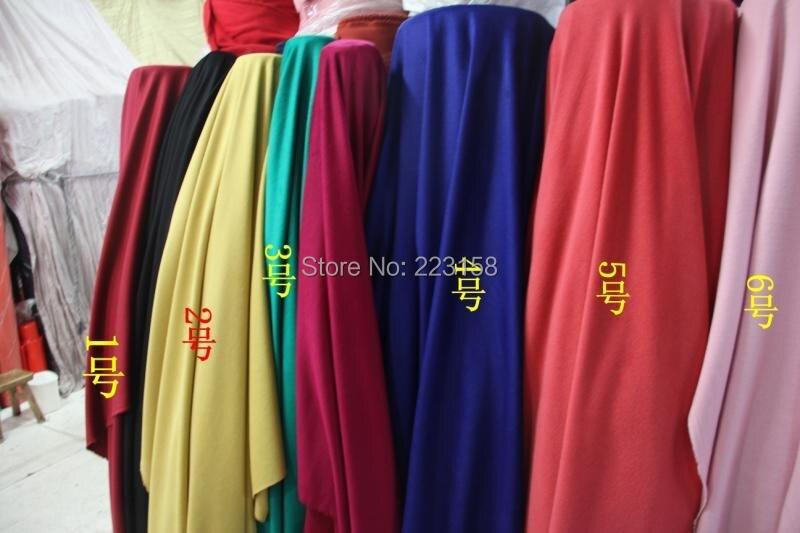 148 cm de large, vente entière, grand stock, multicolore hiver laine cachemire laine pardessus tissu vêtements de mode à la main tissu