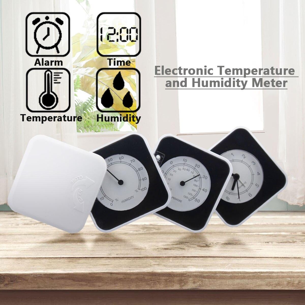 Складной стол дорожный будильник с влажностью календарная дата термометр время для дома путешествия цифровой будильник