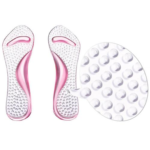 Non-Slip Sandals High Heel Arch Cushion Support Silicone Gel Pads Shoes Insole