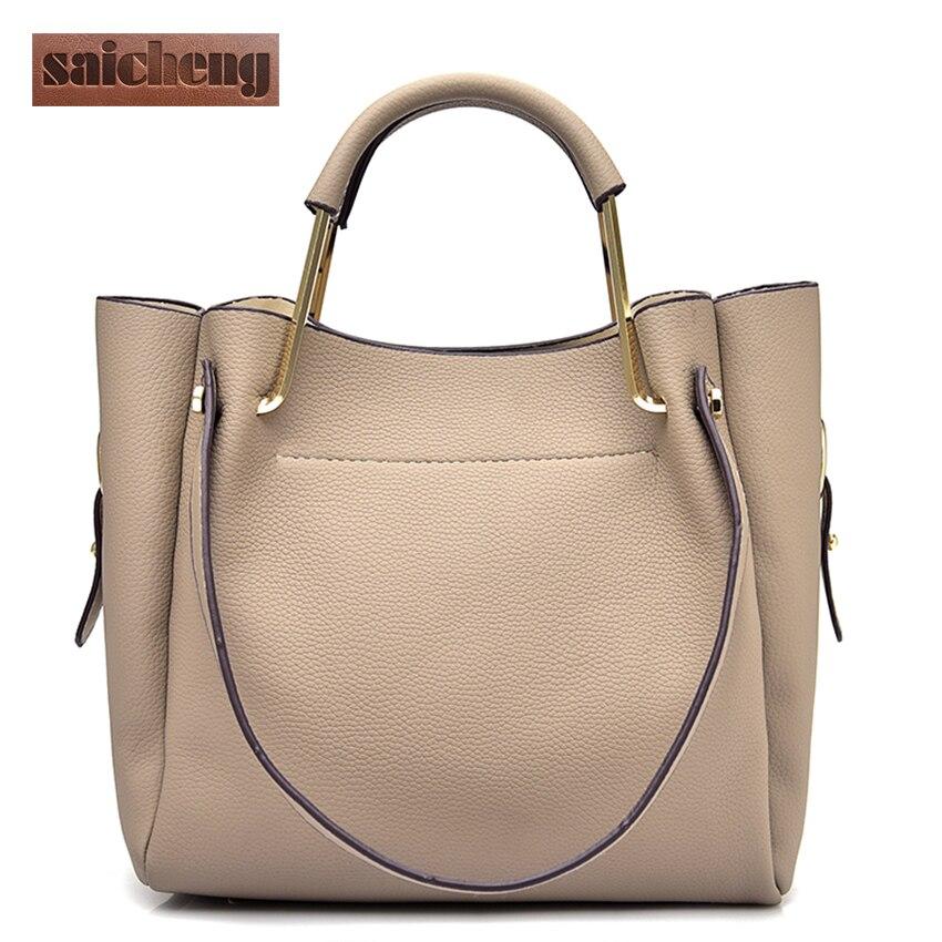 SAICHENG Brand Women Shoulder Bags Small  Luxury Handbags Women Bags Designer Ha