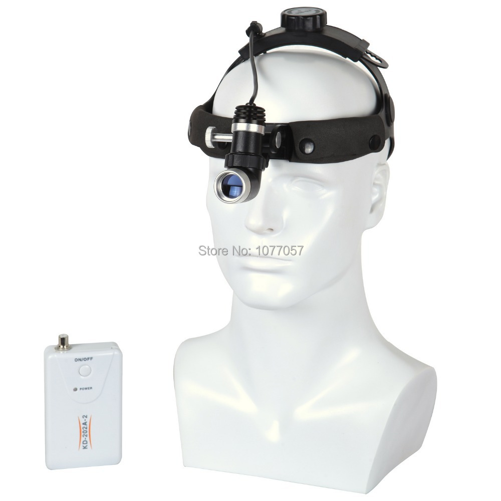 ISO/ CE/ FCC Approval , LED 3W Medical head lamp / Medical head light, Durable DC 7hours Surgical Headlight