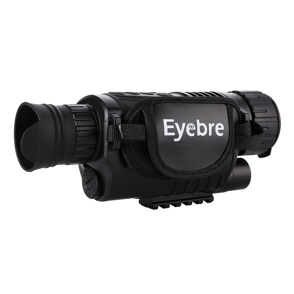 Eyebre 5 x 40 Infrared Digital Night Vision Telescope High Magnification with Video Output Function Adjustable Focus Monocular eyebre hd monocular