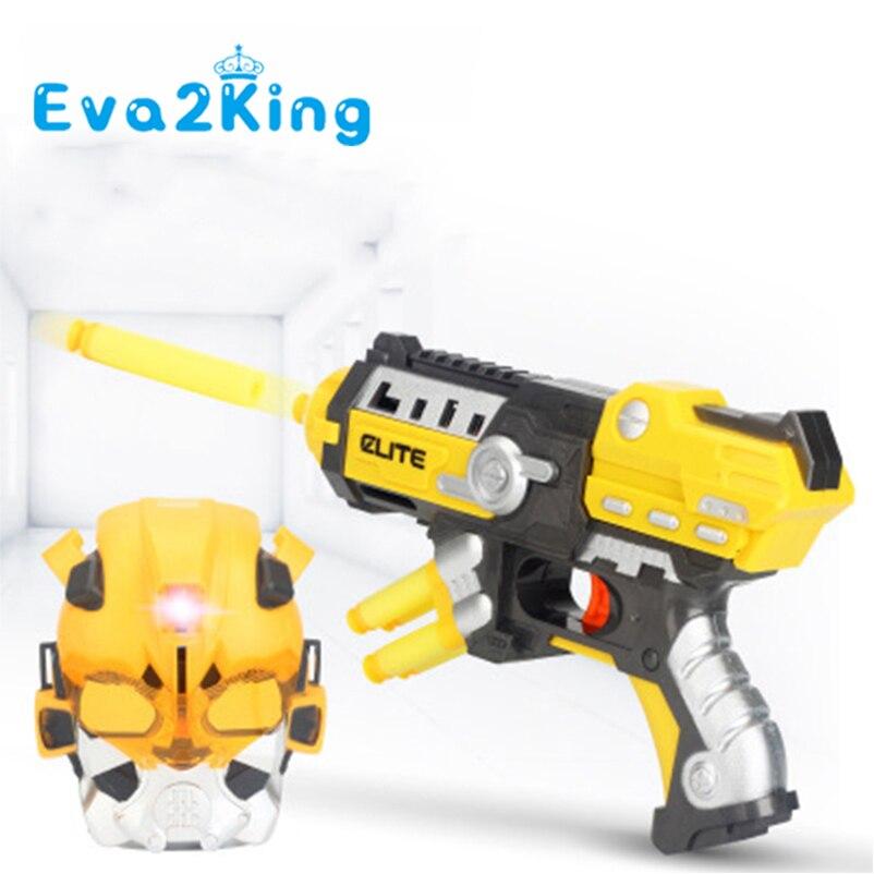 Eva2king balle molle jouet pistolet pistolet Sniper fusil en plastique pistolet en direct CS jeu Smulation balles adapté pour Nerf Rival jouet pistolet