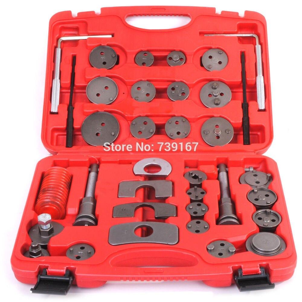 35 pièces disque frein étrier Piston compresseur pare-brise vent arrière Pad trousse à outils pour AUDI BMW citroën FORD HONDA OPEL RENAULT ST0166