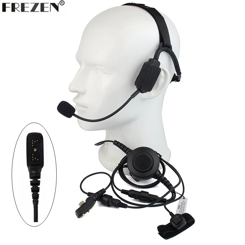 Walkie talkie Military Bone Conduction Tactical Headset boom mic For HYT Hytera PD700 PD780 PD708 PD580 PD788 PD702Walkie talkie Military Bone Conduction Tactical Headset boom mic For HYT Hytera PD700 PD780 PD708 PD580 PD788 PD702