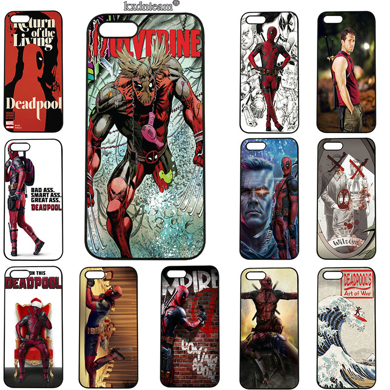Mobile Phone Cases Hard PC Plastic Cover Hot Sale Deadpool 2 For iphone 8 7 6 6S Plus X 5S 5C 5 SE 4 4S iPod Touch 5 6 Shell
