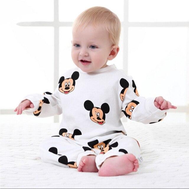 Baby Rompertjes Lente Herfst Cartoon Baby Kleding Katoen Lange Mouwen Kids Jumpsuits Jongens Meisjes Rompertjes Outfits Baby Meisjes Kleding
