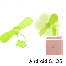 Cool 2 in 1 Mini Micro USB Fan Mobile Phone USB Gadget Fans Holder for iPhone 5 5s 6 6s 7 Plus Samsung Xiaomi Hot Summer Usb Fan