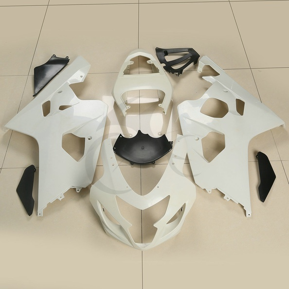 Injection Fairings BodyWork Set Kits For SUZUKI GSXR600 GSX-R 750 2004-2005 K4 abs plastic for new white red suzuki 2004 2005 gsxr 600 750 bodywork fairing kit k4 gsxr600 sxh gsxr750 fairings kits 04 05 528