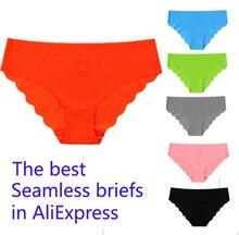 Hot Original New Ultra-thin High-grade fabrics Women Seamless Sexy lingerie Underwear Panties Briefs EU Size 3 pcs/lot
