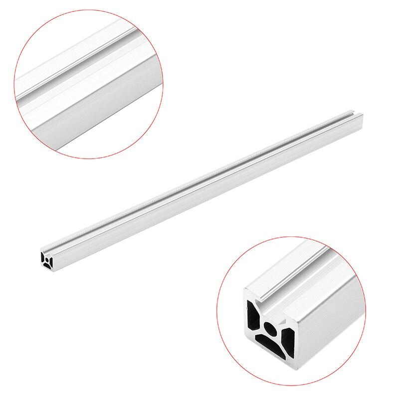 1 pc Durable 500mm longueur 2020 simple t-slot profilés en aluminium cadre d'extrusion pour CNC