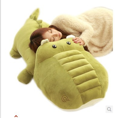 Stuffed animal crocodile army green crocodile plush toy about 160cm doll huge 63 inch  toy throw pillow cushion toy t725 40 30cm pusheen cat plush toys stuffed animal doll animal pillow toy pusheen cat for kid kawaii cute cushion brinquedos gift