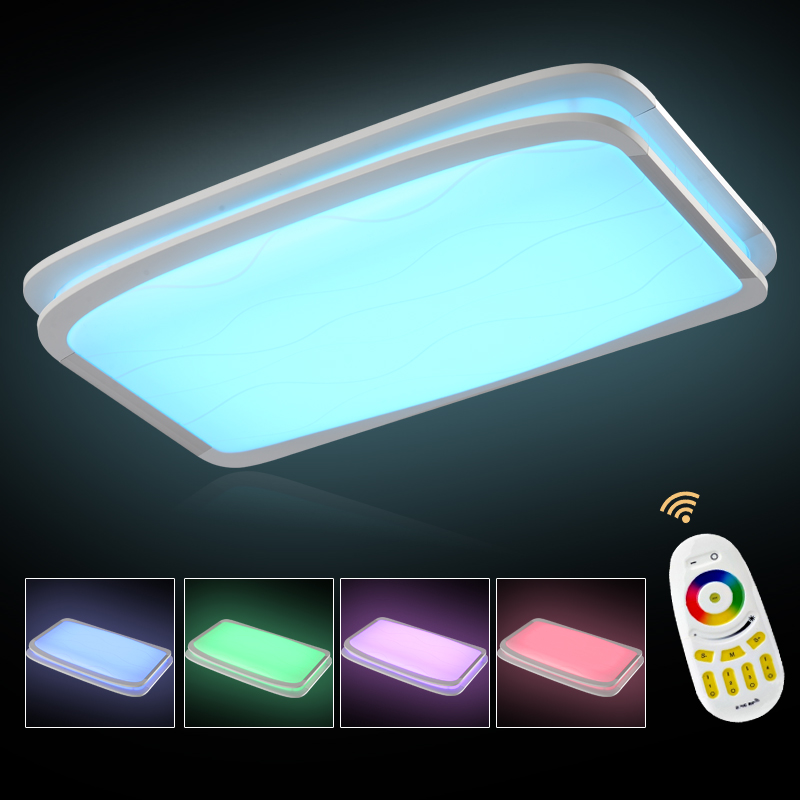 NEW Modern RGB Ceiling Light +Cool white+Warm white Smart LED Lamp shade / Modern Ceiling light for living roomNEW Modern RGB Ceiling Light +Cool white+Warm white Smart LED Lamp shade / Modern Ceiling light for living room