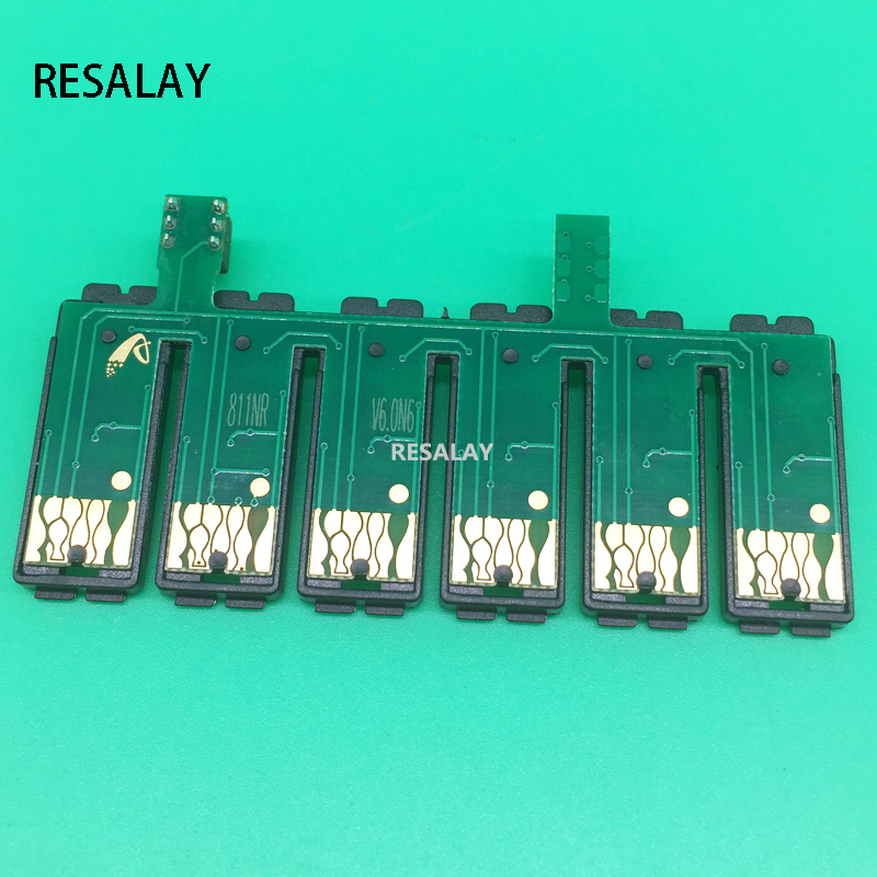 81N T0811N-T0816N Reset CISS Combo Chip For Epson T50 TX700 TX800 TX710W TX650 TX810FW TX820FWD RX615 R270 R290 A1430 A83781N T0811N-T0816N Reset CISS Combo Chip For Epson T50 TX700 TX800 TX710W TX650 TX810FW TX820FWD RX615 R270 R290 A1430 A837