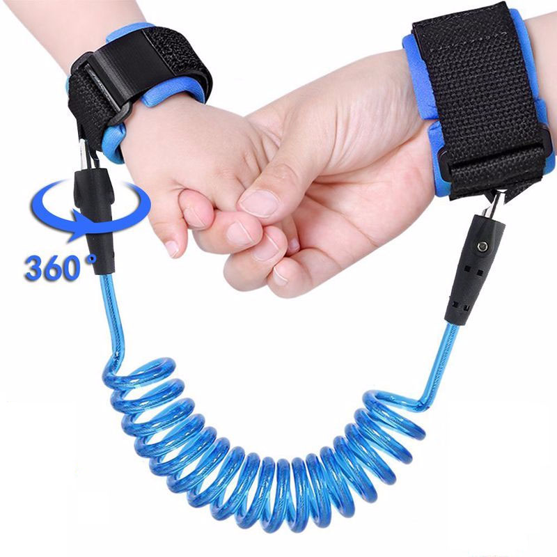 Anti Lost Wrist Link Toddler Leash Safety Harness For Baby Strap Rope Outdoor Walking Hand Adjustable Wrist Link Traction Rope