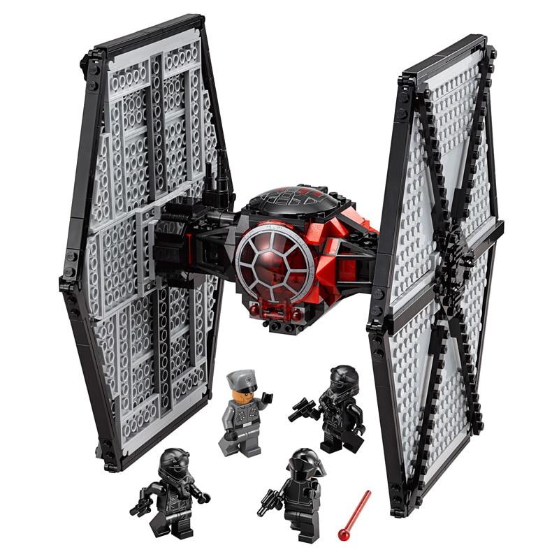 ФОТО BELA Star Wars TIE Fighter Series Building Blocks Starwars Figures Set Model Toys For Children Compatible With legoeINGly