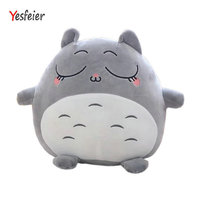 40cm 70cm Fat Totoro Lovely Chinchilla Plush Down Cotton Soft Filled Totoro Doll Yesfeier Cute